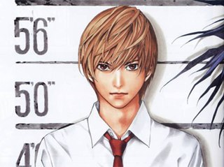 main character of the anime and manga Death Note