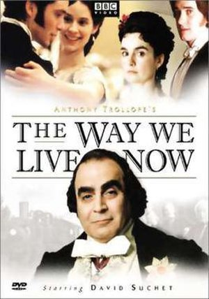 The Way We Live Now (2001 TV serial) - U.S. DVD cover