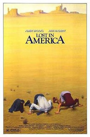 Lost in America - Theatrical release poster