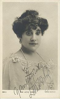 Lottie Venne English actor and singer