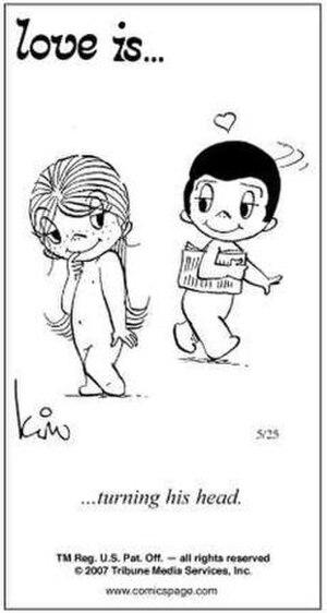 Love Is... - Image: Love Is... comic strip