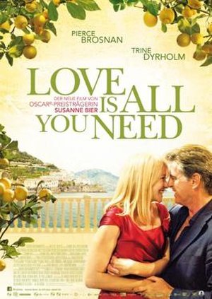 Love Is All You Need - Theatrical poster