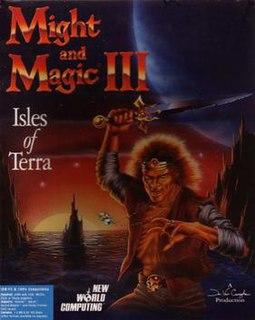 <i>Might and Magic III: Isles of Terra</i> video game