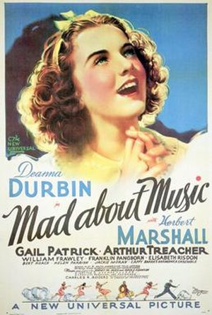 Mad About Music - Image: Mad About Music Poster