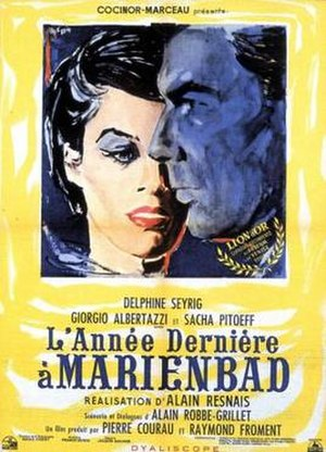 Last Year at Marienbad - Theatrical film poster