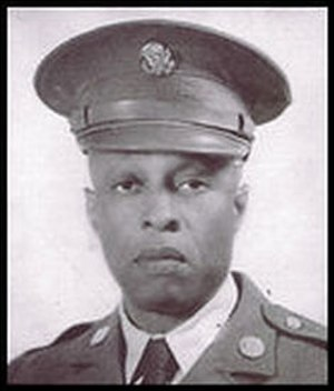 Mark Matthews - Mark Matthews during his tenure as a Buffalo Soldier (date unknown)