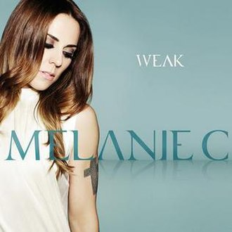 Weak (Melanie C song) - Image: Melanie C Weak Single Cover