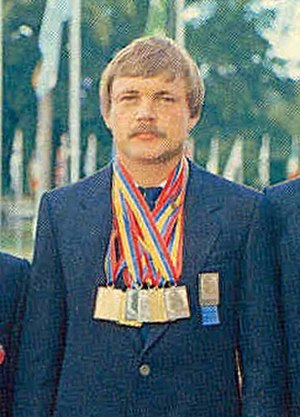 ISSF 50 meter pistol - Aleksandr Melentiev, the 1980 Olympic Champion and Current Olympic record holder