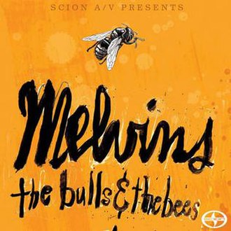 The Bulls & the Bees - Image: Melvins The Bulls & The Bees front cover