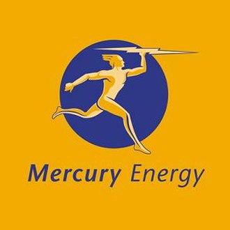Mercury Energy - Logo of the former Mercury Energy