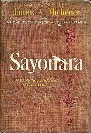 Sayonara (novel) - First edition