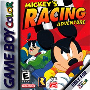 Mickey's Racing Adventure - Image: Mickey's Racing Adventure Coverart
