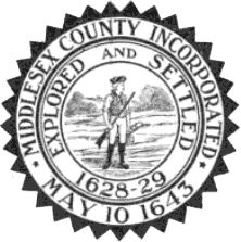 Seal of Middlesex County, Massachusetts