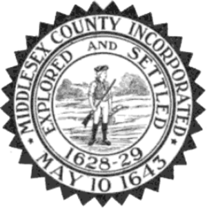 Middlesex County, Massachusetts - Image: Middlesex County Seal