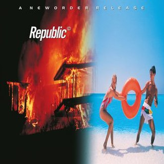 Republic (album) - Image: New Order Republic Cover