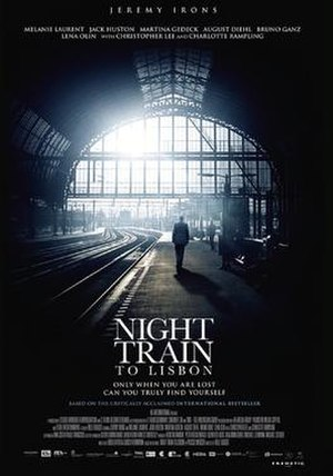 Night Train to Lisbon (film) - Theatrical release poster