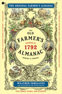 <i>Old Farmers Almanac</i> Annual American periodical