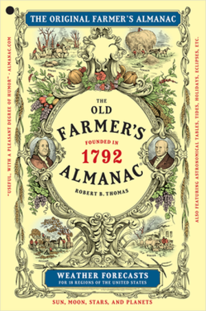 Old Farmer's Almanac - Cover of the Old Farmer's Almanac