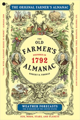Old Farmer's Almanac - Cover of the Old Farmer's Almanac