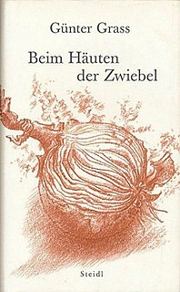 <i>Peeling the Onion</i> 2006 autobiographical work by Günter Grass