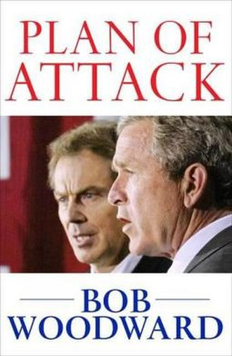 Plan of Attack - Cover of Plan of Attack by Bob Woodward