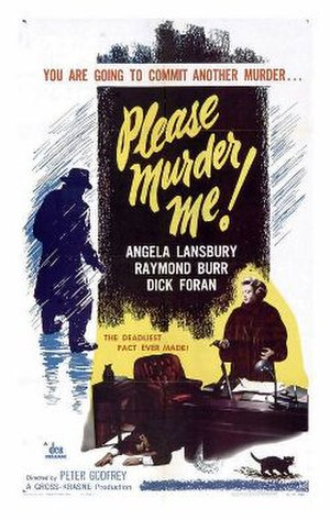 Please Murder Me - Theatrical release poster