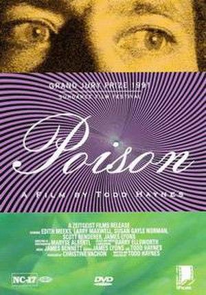Poison (film) - DVD cover