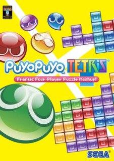 <i>Puyo Puyo Tetris</i> 2014 crossover puzzle video game