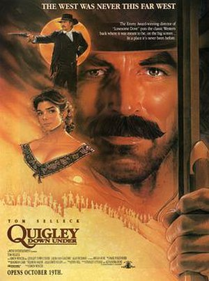 Quigley Down Under - Theatrical release poster by Steven Chorney