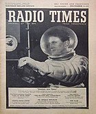 Journey Into Space featured on the cover of the Radio Times.