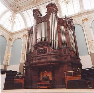 Henry Willis & Sons - Reading Town Hall Organ, built by Willis in 1864, extended in 1882 and rebuilt by Harrison & Harrison in 1999
