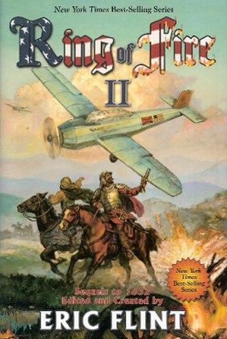 Ring of Fire II - Baen Books Prepublication Ring of Fire II cover art.
