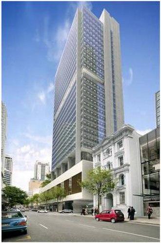 123 Albert Street - Image: Rio Tinto Tower