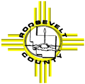 Roosevelt County, New Mexico - Image: Roosevelt County NM seal