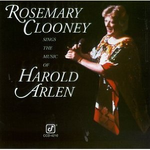 Rosemary Clooney Sings the Music of Harold Arlen - Image: Rosemary Clooney Sings the Music of Harold Arlen cover