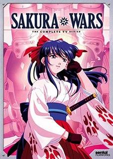 <i>Sakura Wars</i> (TV series) 2000 TV series based on the video game series