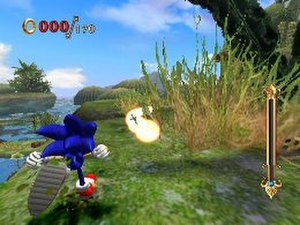 Sonic and the Secret Rings - Image: Secret Rings gameplay