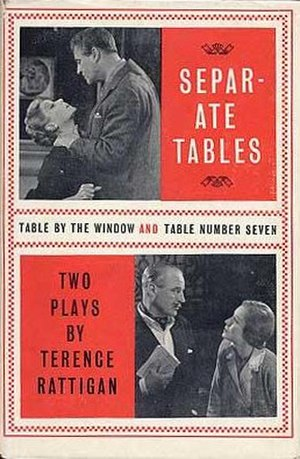 Separate Tables - First edition (publ. Hamish Hamilton, 1955)