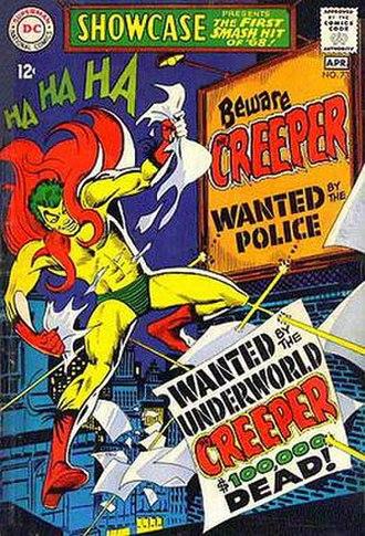 Creeper (DC Comics) - Image: Showcase 73