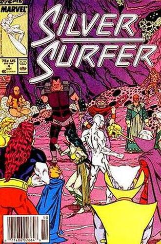 Elders of the Universe - Image: Silver Surfer Vol 3 4