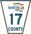 Simcoe Road 17 sign.png
