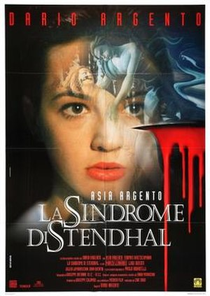 The Stendhal Syndrome - Italian theatrical release poster