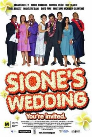 Sione's Wedding - Promotional poster