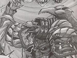 Skeksis - The Collector skekLach, as seen in Legends of the Dark Crystal Vol. 1: The Garthim Wars