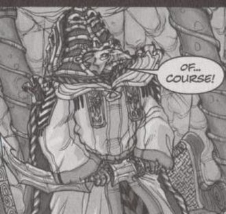 Legends of the Dark Crystal - The General skekVar, as seen in Legends of the Dark Crystal Vol. 1: The Garthim Wars