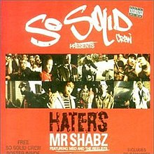 So Solid Crew — Haters (studio acapella)
