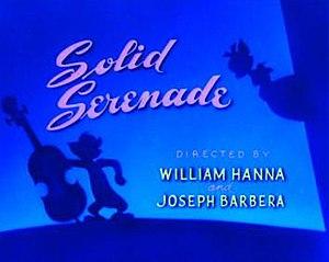 Solid Serenade - Re-release title card of Solid Serenade.