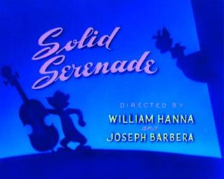 <i>Solid Serenade</i> 1946 animated short film directed by Joseph Barbera