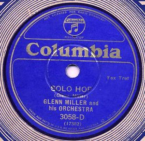 Solo Hop -  1935 Columbia 78, CO-3058-D.