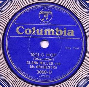 Solo Hop -  1935 Columbia 78, CO-3058-D.
